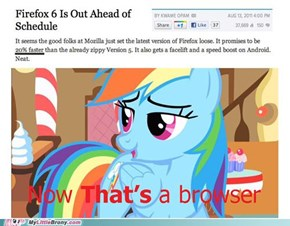 The Guys Down at Mozilla Are Bronies