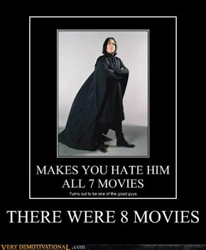 THERE WERE 8 MOVIES