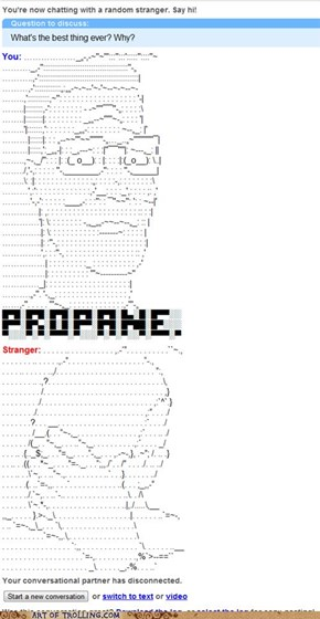 And propane accessories.