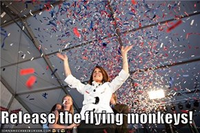 Release the flying monkeys!