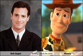 Bob Saget Totally Looks Like Woody