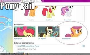 Pony Fail
