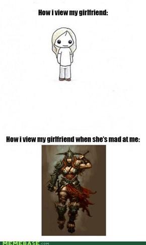My Girlfriend the Barbarian