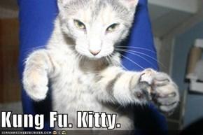 Kung Fu. Kitty.