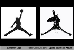 Jumpman Logo By Nike Totally Looks Like Upside Down Seal Album