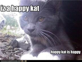 iz a happy kat