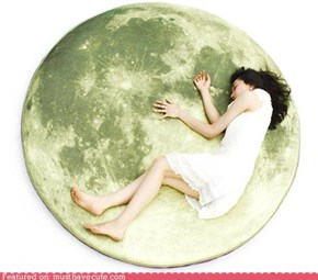 Full Moon Odyssey Pillow