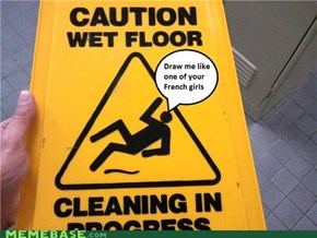 Slippery Sign