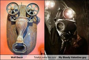 Wall Decor Totally Looks Like My Bloody Valentine guy