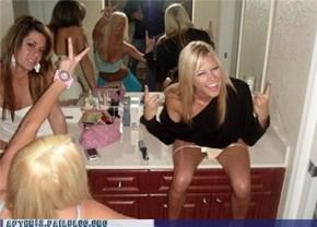 Woo Girls Are Sloppy Drunks