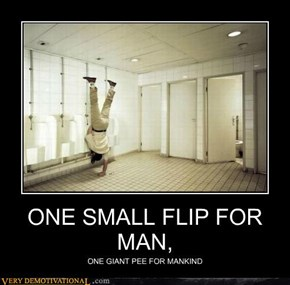 ONE SMALL FLIP FOR MAN,