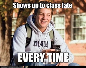 Uber Frosh: Better Late Than Never! Actually...