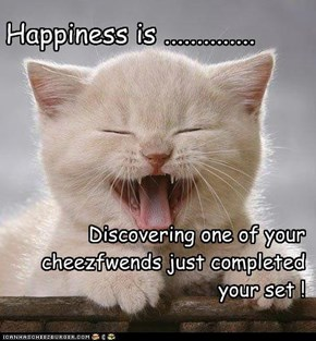 Happiness is ..............