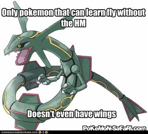 Only pokemon that can learn fly without the HM