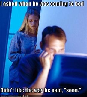 Internet Husband Has That Look in His Eyes