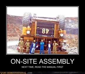 ON-SITE ASSEMBLY