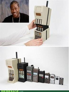 A Phone in a Phone? Reception