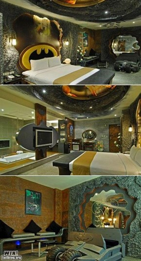 Batlovers dream home...