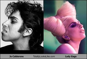 Jo Calderone Totally Looks Like Lady Gaga