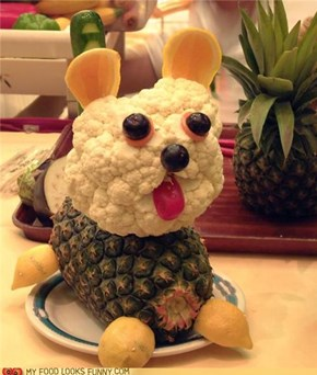 Food Art: Little Dog