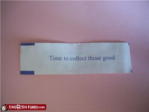 Fortune Cookie Friday: Gotta Catch 'em All
