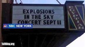 Concert Sign Fail