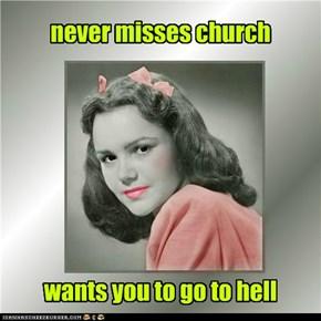 Toxic Trudy, evangelist extraordinaire