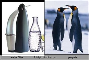 TLL Classics: Water Filter Totally Looks Like Penguin