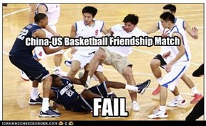 China-US Basketball Friendship Match