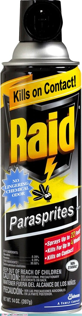 RAID now for Parasprites