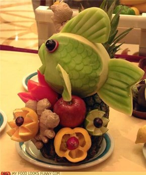 Food Art: The Fish