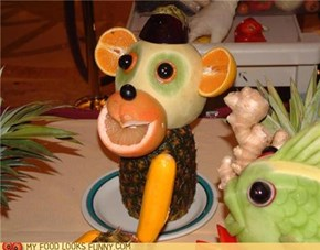 Food Art: The Monkey