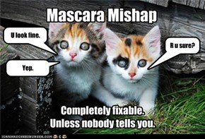 Mascara Mishap