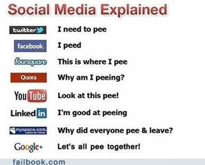 Social Media: A Piss-Poor Explanation