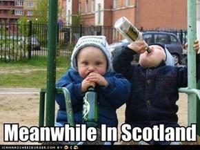 Och, These Wee Bairns Cannae Handle Whisky!