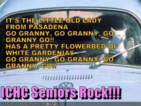 ICHC Seniors Rock!!!