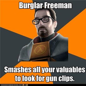 Gordon Freeman: At Least He Doesn't Say a Word