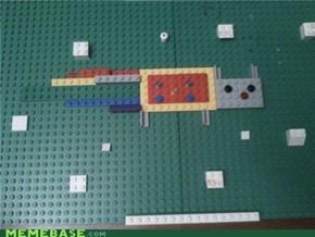 Lego Nyan Cat
