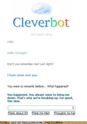 Cleverbot is learning fast