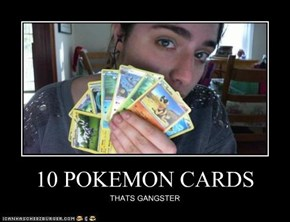 10 POKEMON CARDS