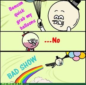 bad show.