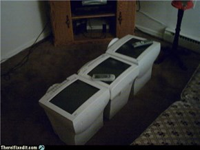 Coffee Table, Just One More Use For Your Old CRT