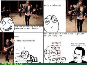 Rebecca Black.. u mad