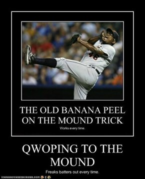 QWOPING TO THE MOUND