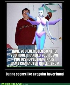 Regular hover hand