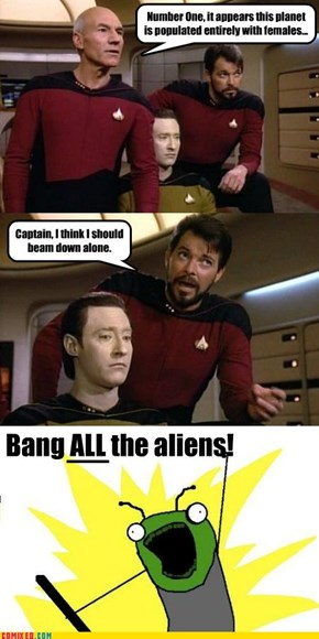 Randy Riker: ALL the Aliens