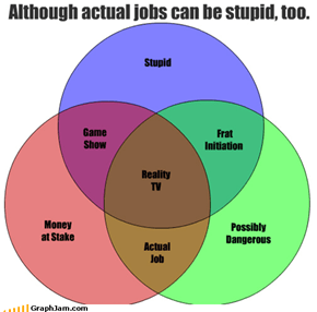 Although actual jobs can be stupid, too.