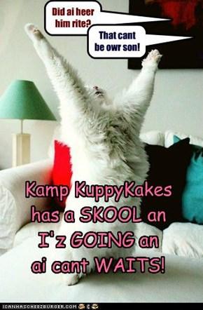 Going tu KuppyKake Skool!