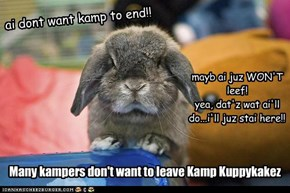 Kamper'z Don't Want Kamp to End