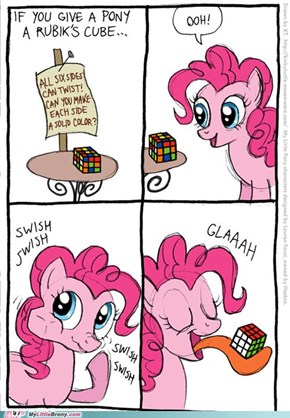 If You Give a Pony a Rubik's Cube